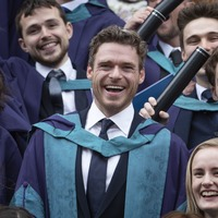 Richard Madden 'humbled' at honorary doctorate years after missing graduation