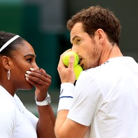Social media enjoys 'Andy and Serena show' as duo pair up for mixed doubles win