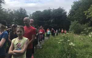 The Bluffer feels exhilarated after  completing the Colin Glen Parkrun
