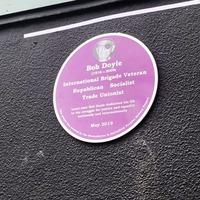 Plaque unveiled to honour Spanish Civil War veteran