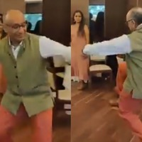 Couple go viral showing off dance moves at their anniversary party
