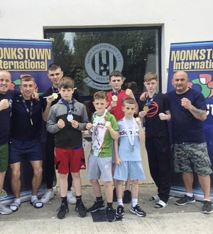 Gold galore for St Paul's ABC in Monkstown International Box Cup