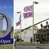 Organisers of The Open in Portrush warn of possible bonfire 'disorder'