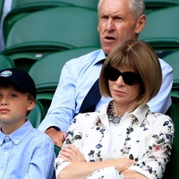 Anna Wintour and Dame Shirley Bassey among stars at Wimbledon
