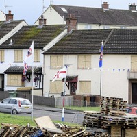 Houses boarded up in preparation for controversial Portadown bonfire