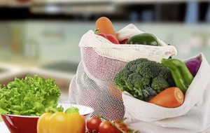 Healthy ethics: environmentally friendly and reusable mesh bags