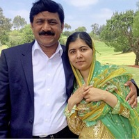 Malala's dad Ziauddin: I brought my daughter up to believe in herself and in equality
