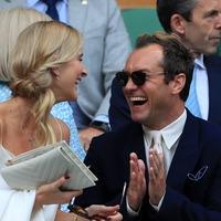 Hugh Grant and Jude Law among the stars gracing Wimbledon