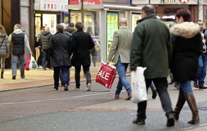 High streets hurting as Northern Ireland again at bottom of UK footfall league