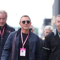 Bond star Daniel Craig attends British Grand Prix