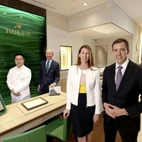 Rolex store opens at Queen's Arcade - in time for The Open