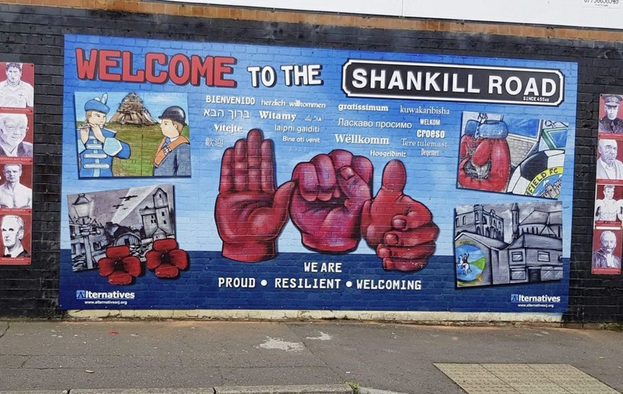 A Brief Tour Through the History of West Belfast