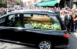 Crowds line streets to say goodbye to Father Ted star Brendan Grace