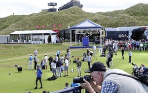 Golfing fans from across the globe descend on Portrush