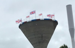 NI Water reports 'break-in' after flags erected at Rathfriland tower