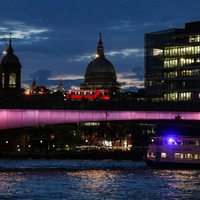 River Thames bridges lit up in new artwork