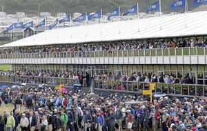 Roars of Portrush crowds herald start of a historic milestone for golf in Ireland