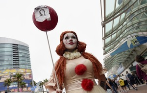 Superfans show off their costumes at Comic-Con