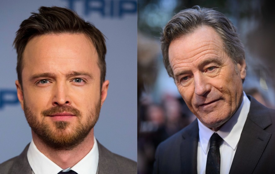 Bryan Cranston teases Aaron Paul on Instagram as two confirm