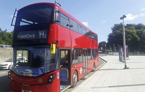 Wrightbus secures multi-million pound hydrogen double decker bus order