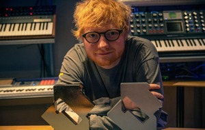 Ed Sheeran scores number one album and single on UK charts