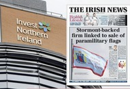 Stormont-backed social enterprise being linked to selling of paramilitary flags also received Invest NI funds