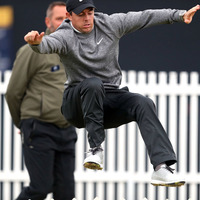 Rory McIlroy bowled over by surge of support but birdie charge at Open comes up short at Portrush