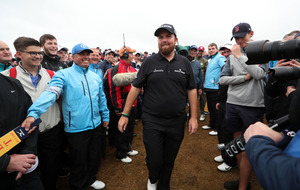 Shane Lowry ready to carry Irish hopes as he co-leads The Open with two days to go