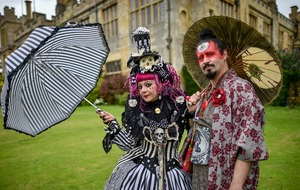 In Pictures: Stately home turns steampunk for Fantasy Forest event