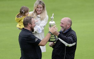 Tears of joy as Lowry lifts the famous Claret Jug