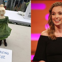 'Kaleing Eve': Jodie Comer vegetable carving admired at Lambeth Country Show