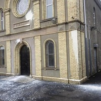 Orange Hall paint attack treated as `hate crime'