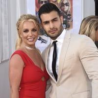 Britney Spears attends 'first premiere' with boyfriend Sam Asghari