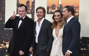 Leonardo DiCaprio, Brad Pitt and Margot Robbie attend Tarantino premiere