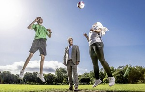 Brian Kerr teams up with SARI and Coca-Cola in community initiative