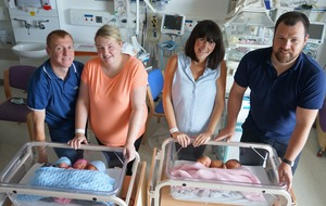 Two sets of triplets born within 24 hours at same hospital