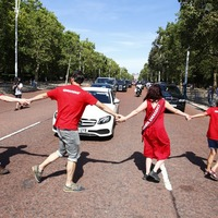Climate protesters block Boris Johnson's car on way to meet Queen