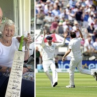 Simon Coveney and his granny see Ireland stun England on day one of first cricket Test
