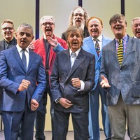 Blackadder stars Rowan Atkinson and Stephen Fry honoured by Sir Paul McCartney