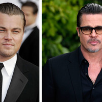 Brad Pitt and Leonardo DiCaprio make beautiful art
