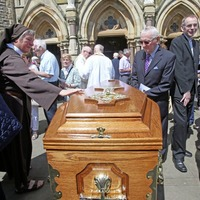 Funeral takes place of `committed Redemptorist' Fr Phil Dunlea