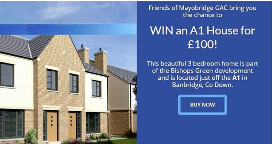GAA club forced to abandon raffle to win new house in Co