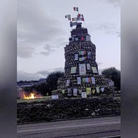 Mid Ulster council passes motion condemning 'sectarian displays' at bonfires
