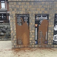Sinn Féin brand paint attack on republican memorial in Ardoyne 'sectarian'