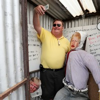 'Boris Johnson in public toilet' wows scarecrow festival visitors