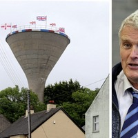 DUP's Jim Wells says Rathfriland water tower flags 'very tastefully done'