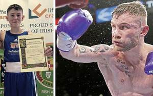 Boxers send video of support to Kyle Smith
