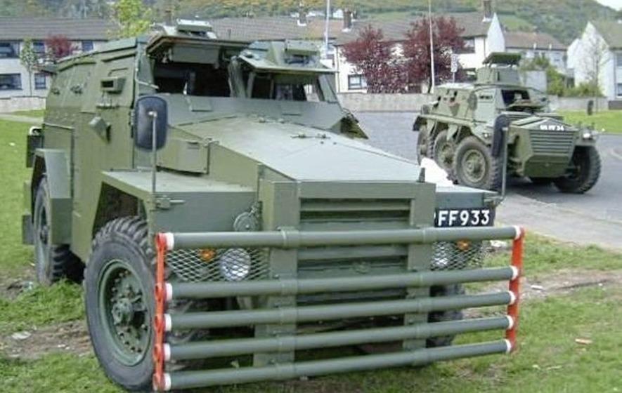 Ballymurphy man's limo plan for RUC Land Rover - The Irish News