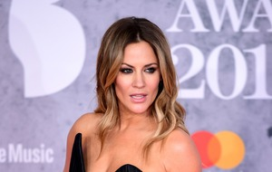 Caroline Flack admits to 'little wobble' during Love Island final