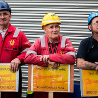 Administrators arrive at Belfast shipyard Harland and Wolff
